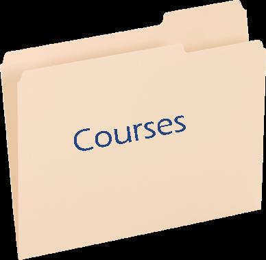 courses folder icon